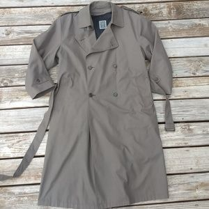 DIOR Trench Coat Christian Dior Monsieur Size 44R